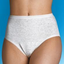 Inkontinenzslip zur Vorlagen-Fixierung mit Silberionen