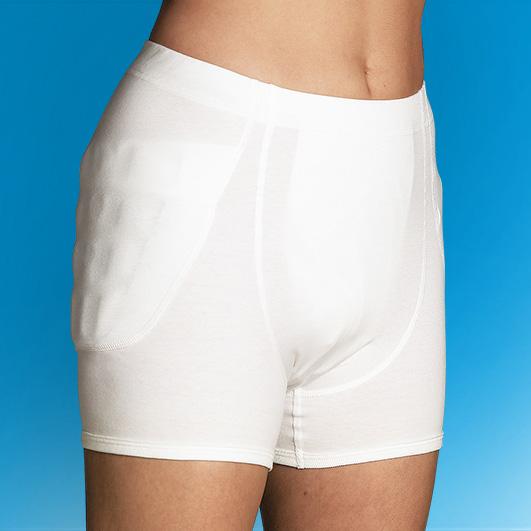 Inkontinenz-Hüftschutzhose ohne Protektoren